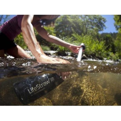 LifeStraw Go 2, grau, 2-Stage Filter