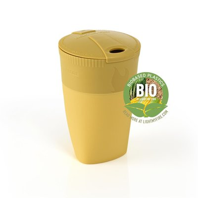 Pack-up-Cup BIO mustyyellow - Faltbecher